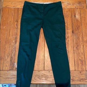 Dark Emerald Green Pants